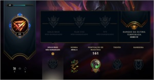 Conta League Of Legends Unranked  60 Skins