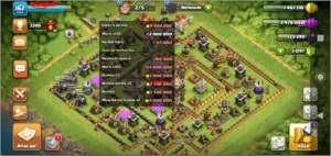 Conta Clash of Clans CV 11 semi full