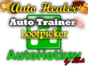 Healer + Trainer + Lootpicker - Xabi Scripts