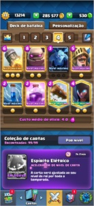 Clash royale cv 13 Cartas Full