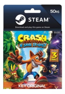 Crash Bandicoot N. Sane Trilogy Steam Pc Key Original