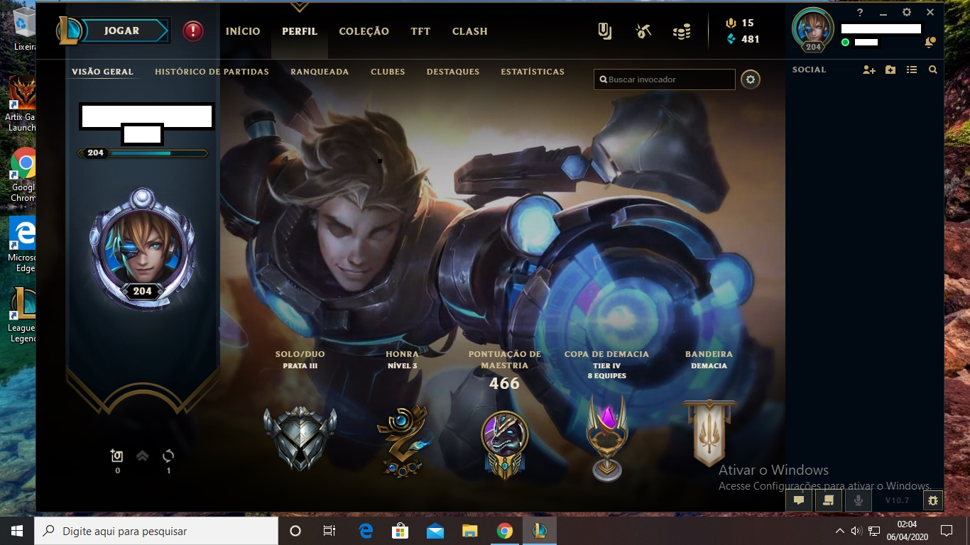 League Of Legends Conta 79 Skins 129 Campeoes Dfg