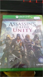 XBOX-ONE - Assassin's Creed Unity [ LACRADO ]