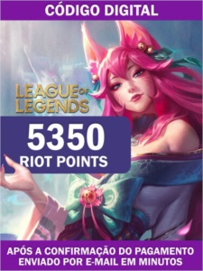 5350 RIOT POINTS - LOL BR