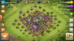 Conta Clash of Clans Cv 9 Recente