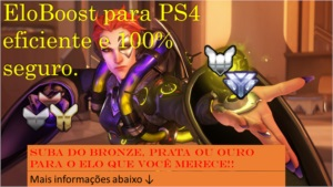 EloBoost - Overwatch PS4 até Diamante