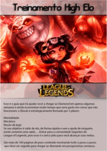 E-BOOK SEGREDOS DO LEAGUE OF LEGENDS  - TREINAMENTO HIGH ELO