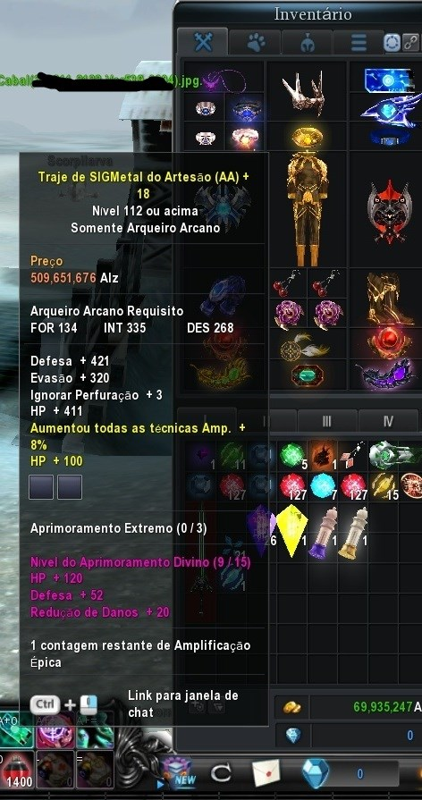 AA Cabal BR Venus Over 50 Aprox. 7k PA e 4k PD