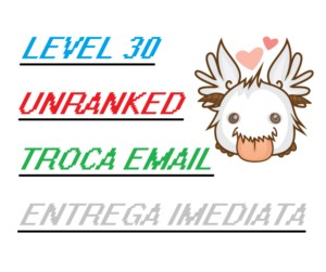 Conta Acc LoL League of Legends Level 30