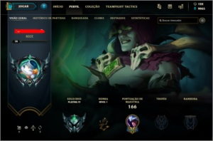 Conta League of legends ótima