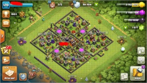 Vendo CV 10 - Clash of Clans