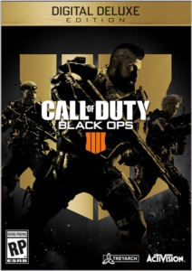 Vendo Call of duty Black ops 4 pc digital deluxe edition
