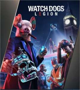 Key Watch Dogs Legion + Golden King Pack
