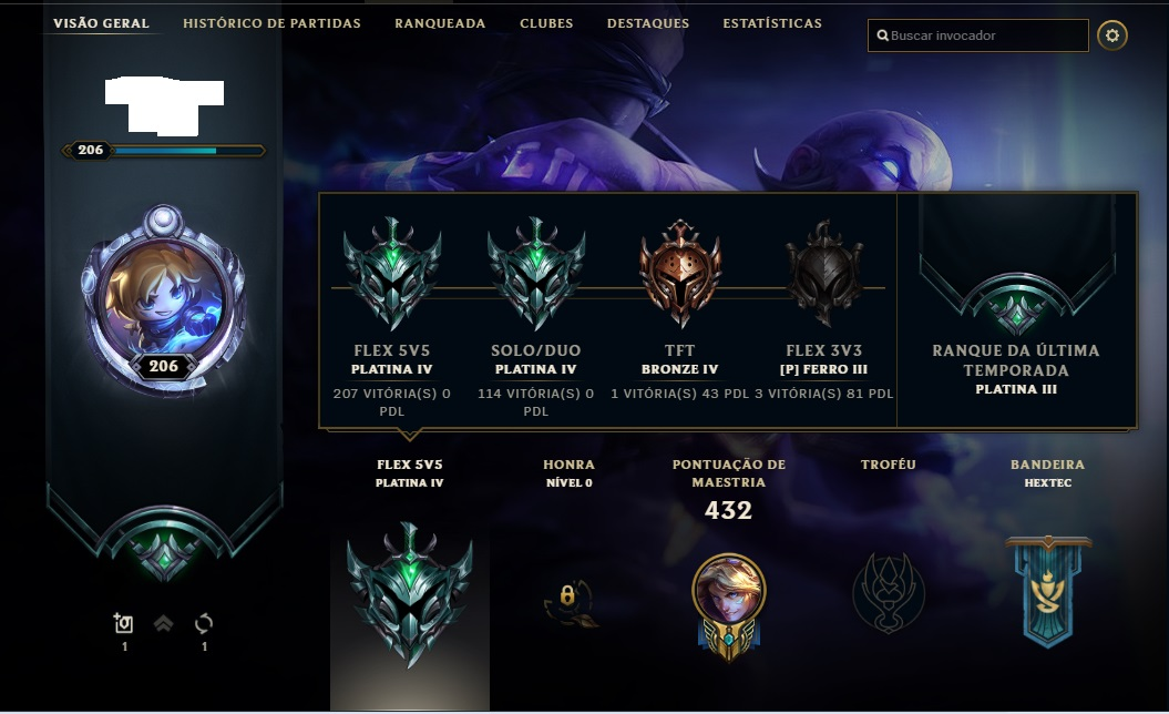 Conta League of Legends (ALL CHAMPIONS)  *96 Skins*