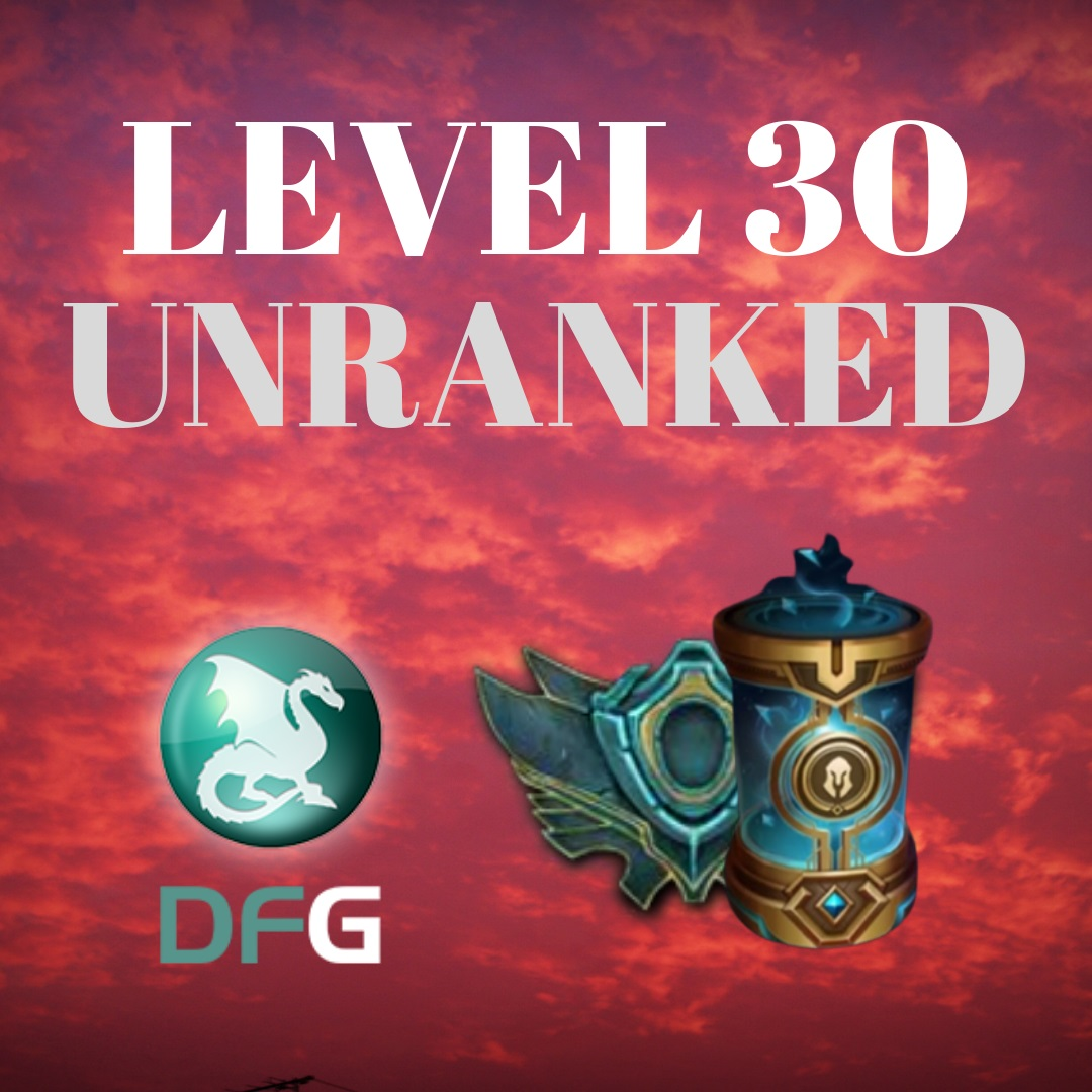 League of Legends UP Lvl 1 ao Lvl 30
