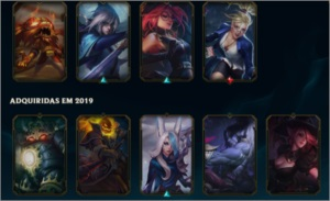 CONTA MD10 100+SKINS/CHAMPS  SMURF 10K EA