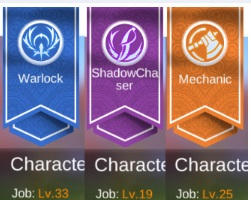 MOBILE Lv110 Warlock/Mechanic/ShadowChaser (multijob) 300+kk