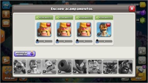 Conta clash of clans