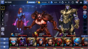 Conta Marvel Future Fight