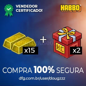 HABBO PACK - 15 BARRAS + 2 CAIXAS HC