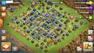 Conta Clash of Clans - CV 13