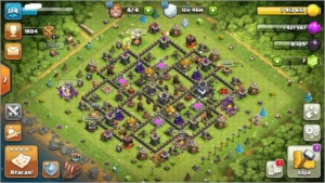 clash of clans cv9full defesas clash royale acc lvl10