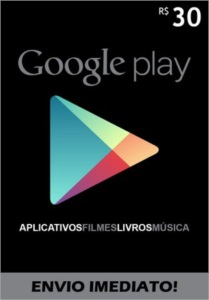 GOOGLE PLAY [Créditos] - R$30,00