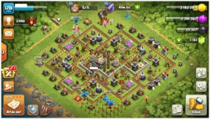 CLASH OF CLANS - CV 11 MAXIMIZADO - PRATICAMENTE FULL