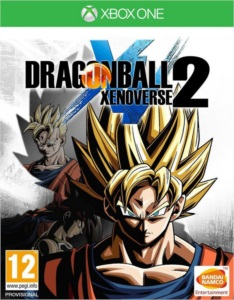 DRAGON BALL XENOVERSE 2 + TODAS AS DLCS XBOX ONE MIDIA DIG