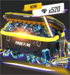 Free Fire Diamante × 660 + Bônus 66