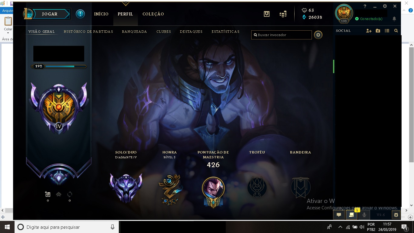 League Of Legends Diamante Bom Preco Dfg