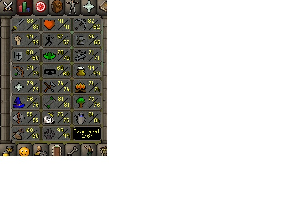 Conta Old school runescape