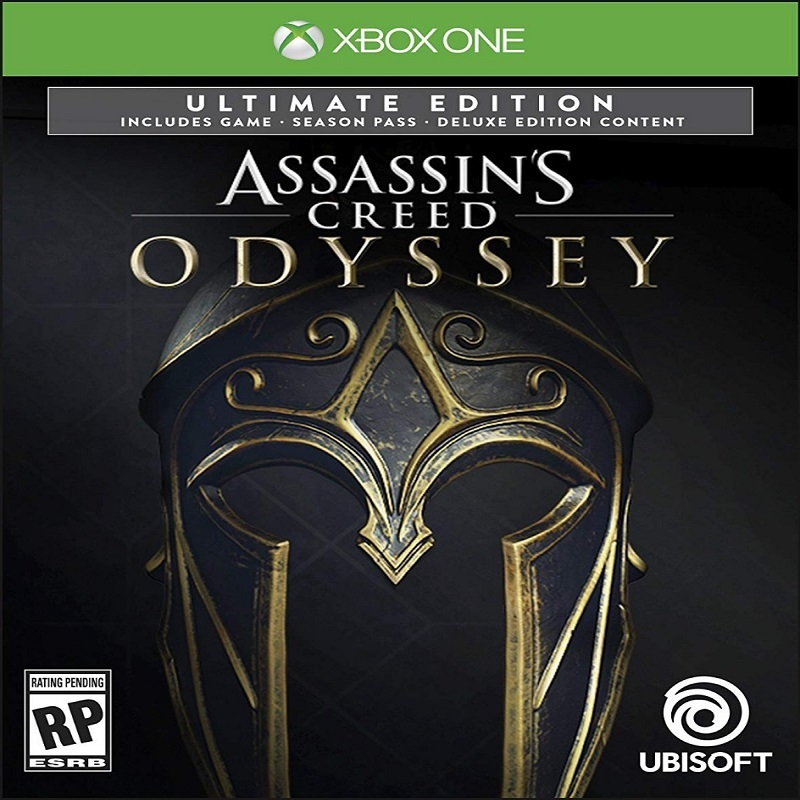 ASSASSIN'S CREED ODYSSEY - ED ULTIMATE XBOX ONE MIDIA DIG