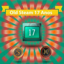 Steam 17 anos 2003 rara