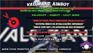 🎯 VALORANT AIMBOT 🌟 AIMLOCK / ASSIST ✅ 100% INDETECTAVEL