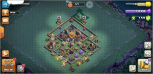 Clash Of Clans Cv9 quase Full