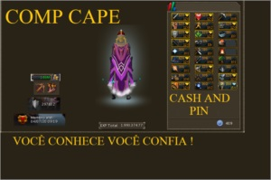 TOP ACC COMP CAPE RUNESCAPE 3