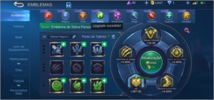 Conta mobile legends 94 herois/ 119 skins