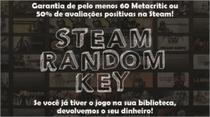 5x Steam Random Key