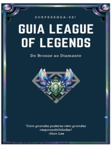 Ebook do Bronze ao Diamante Em Semanas no LOL