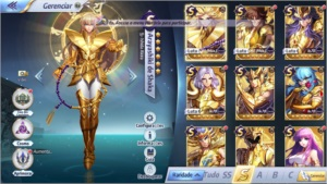 Saint Seiya Awkening Global Conta Server A-24