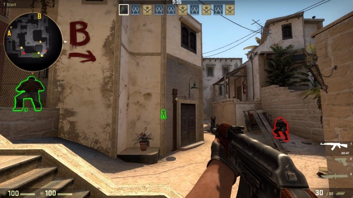 Counter Strike - HACK CS GO ! Wallhack, aimbot  - DFG