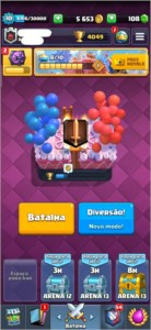 Vendo conta Clash Royale