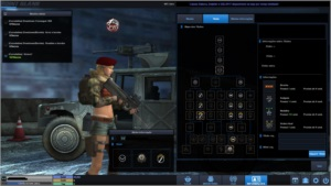 Conta tenente coronel 2 point blank full armas