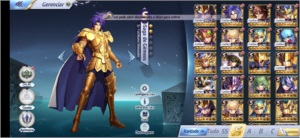 Conta Saint seiya lvl 48 E26-Leo Global