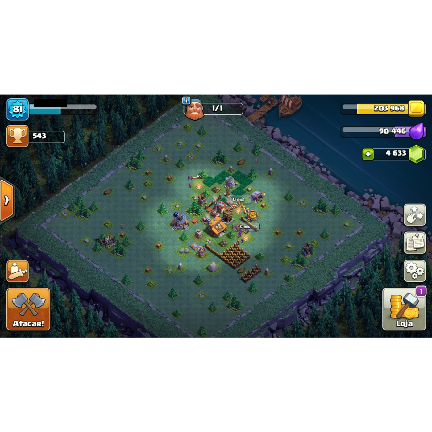 CLASH OF CLANS CV8 BARATO