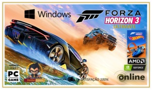 Forza Horizon 3 Pc + Hot Whee Dlc - Forza 3 Pc