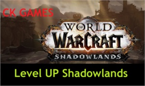 WOW SHADOWLANDS POWERLEVEL LEVEL UP 1 AO 60