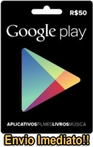 GOOGLE PLAY [Créditos] - R$50,00