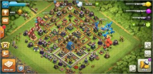 Clash of Clans cv12 upado